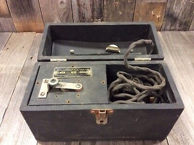 Early 1900's Fitzgerald Mfg. Star Violet Ray Quack Electric Healing Machine