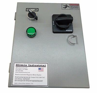 Elimia CMS 12-18-230LCM 5 HP 230V Combination Air Compressor Motor Starter UL