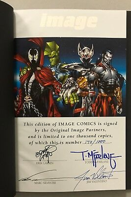 Todd McFarlane Signed Limited Edition IMAGE Comics Book AUTO 142/1000 SPAWN