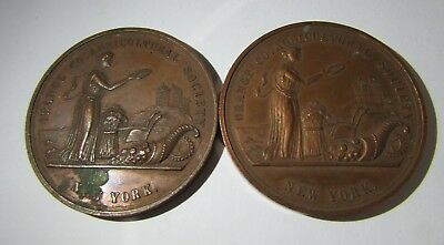 Pair of 1913 New York Orange County Agricultural Society Award Medals