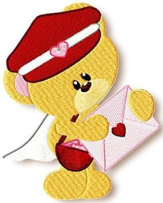 In Love Bears 11 Machine Embroidery Designs Cd 2 Sizes Included