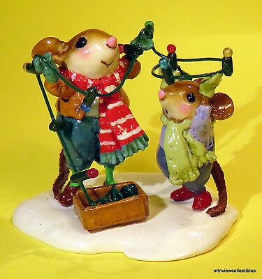 Wee Forest Folk M-493a Merry & Bright-New 2016 Christmas