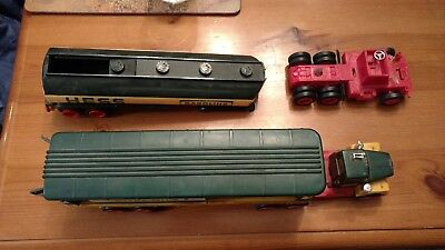 Pair Of  1976 & 1977 Hess Fuel Oils Gasoline Toy Truck *Parts / Repair* USA