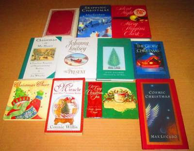 MIXED Christmas Book Lot of 11 -Christmas Cheer, Silent Night, Christmas in My H