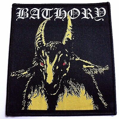 Bathory Old Yellow Goat Woven Patch