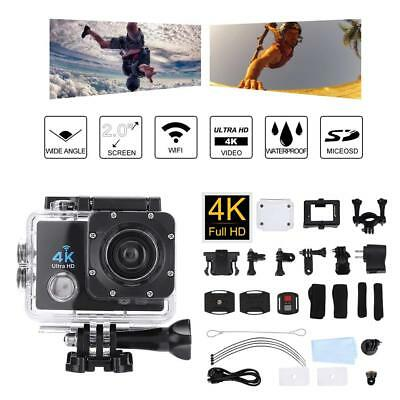 4K SJ9000 1080P Action Sport Camera Waterproof WiFi DVR Cam Camcorder Full HD CO