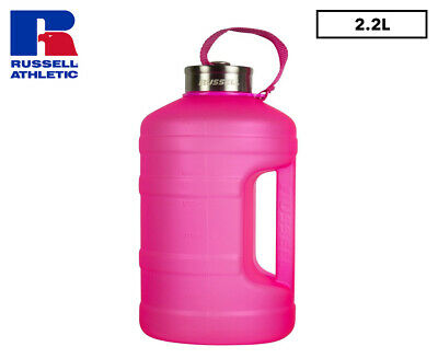 Russell Athletic 2200mL 2LPD Matt Drink Bottle - Pink