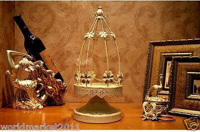 European Style New Classical Delicate Creative Iron Candlestick Decoration Gift