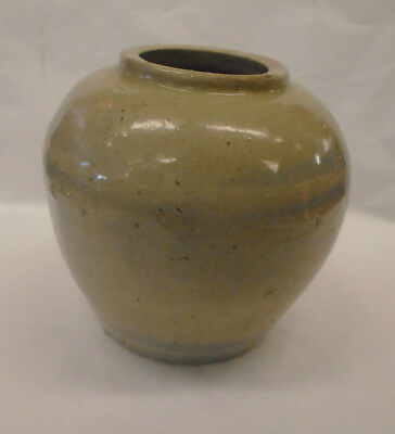 Interesting Antique Chinese Blue and White Ginger Jar 18th Century