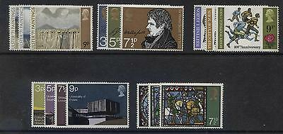 G.b. - Complete 1971-79 Commemorative Sets Unmounted Mint - ( 61 Sets) (Ref.a2)