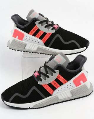 brand new 7ac3a 12ddf adidas EQT Cushion Adv Trainers in Black, Pink  White - equipment SIZE 9  SALE