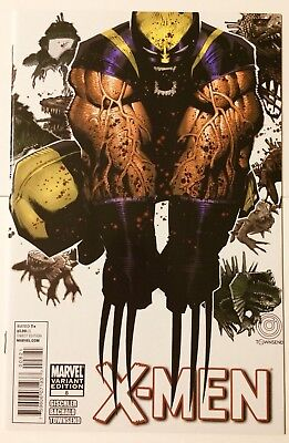 X-MEN #8 (2011) Chris Bachalo Variant Cover NM