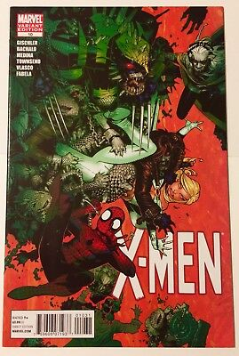 X-MEN #10 (2011) Chris Bachalo Variant Cover NM