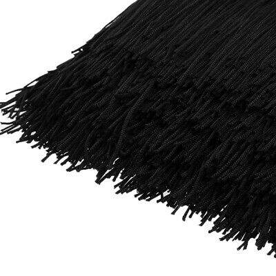 2x 6in Fringe Tassel for Latin Dance Skirt Sewing Wedding DIY Arts Craft
