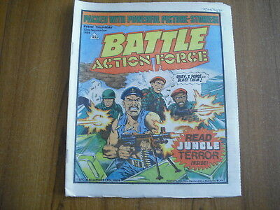 BATTLE ACTION FORCE COMIC - SEPTEMBER 22nd 1984
