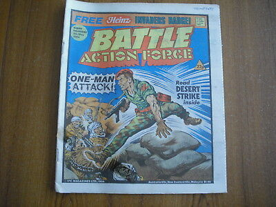 BATTLE ACTION FORCE COMIC - MAY 5th 1984