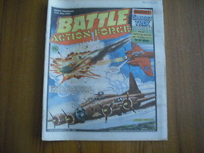 BATTLE ACTION FORCE COMIC - MAY 12th 1984