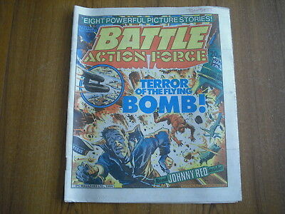 BATTLE ACTION FORCE COMIC - MARCH 17th 1984