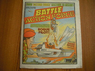 BATTLE ACTION FORCE COMIC - DECEMBER 22nd 1984