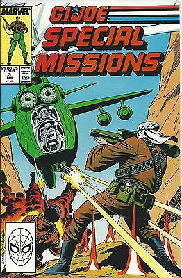 G.i.joe: A Real American Hero: Special Missions #9 (Marvel) (1988) Nm-