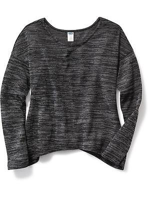 NWT Old Navy Girls Scoop-Neck Sweater XS (5) S (6-7) M (8) Black $19.94 Top