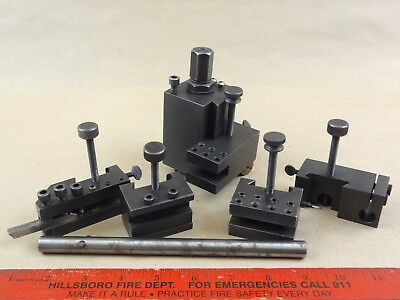 Powers Quick Change Tool Post & Holders Set Assembly
