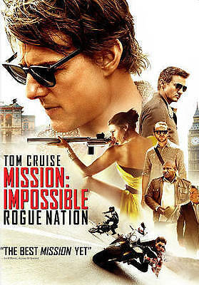 Mission: Impossible - Rogue Nation (DVD, 2015) FREE SHIPPING!!