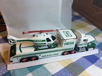 Hess Toy Truck & Helicopter. 1995. NIB