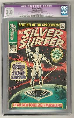 Silver Surfer #1 CGC 3.0 (OW-W) Origin of the Silver Surfer