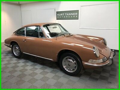 1967 Porsche 912 912 COUPE. SPECIAL ORDER LIDO GOLD PAINT / BLACK TRIM, 4-SPEED. 1967 PORSCHE 912 COUPE. LIDO GOLD / BLACK. MATCHING #'s ENGINE. HIGHLY ORIGINAL.