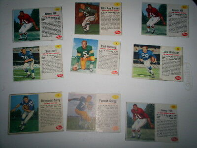 1960,s post cereal football cards