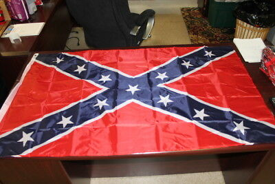 BRAND NEW 3' x 5' NYLON REBEL SOUTHERN FLAG