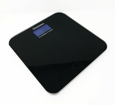 Tempered Glass Digital Bathroom Body Weight Scale 400 Lbs Capacity