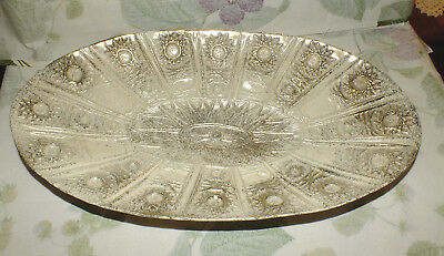 CALIFORNIA ORIGINAL USA oval GOLD IVORY stars BOWL # 839 atomic   EXC