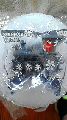 mcdonalds happy meal toy holiday express engine