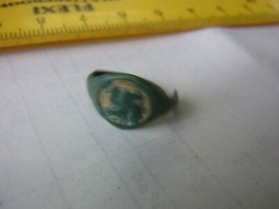 Ancient Bronze Casting Ring