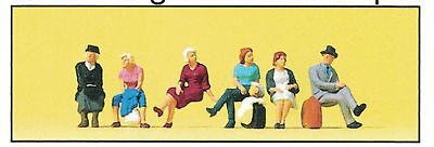 Preiser 75037 Seated Passengers Scale 1:120 TT Accessory Original Packaging