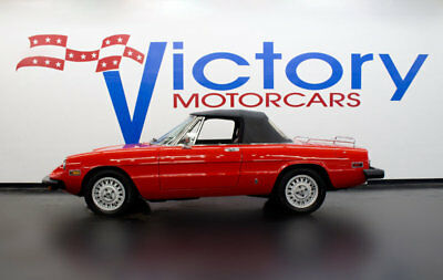 1976 Alfa Romeo Spider  ONLY 35325 ORIGINAL MILEAGE TWO OWNERS