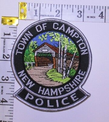 Campton New Hampshire Police Department Shoulder  Patch