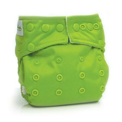 Bumkins Snap in One Diaper - Green