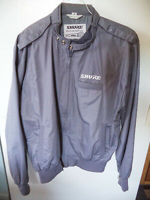 Used SHURE Microphone Workmans Lightweight Jacket - Size Medium with Logo