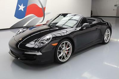 2014 Porsche 911 Carrera 4S Convertible 2-Door 2014 PORSCHE 911 CARRERA 4S CONV AWD PDK NAV CHRONO 24K #154414 Texas Direct