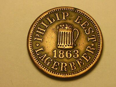 Rare, 1863, Empire Brewery, Philip Best Lager