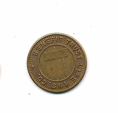 old token coin medal ~ parking insurance ~ parcoa ~ Benefit Trust  Life Ins. Co.