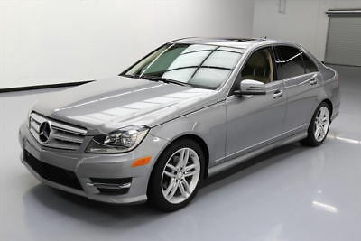 2013 Mercedes-Benz C-Class  2013 MERCEDES-BENZ C250 SPORT SEDAN P1 SUNROOF NAV 48K #125662 Texas Direct Auto