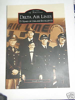 Delta Air Lines 75 Years Of Excellence Book  Northwest Pilot Christmas Gift !