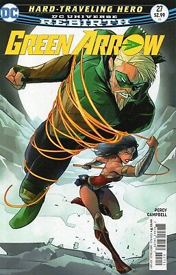 Green Arrow #27 (NM) `17 Percy/ Campbell  (Cover A)