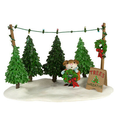 PICK-A-TREE LOT by Wee Forest Folk, WFF# M-422a, Christmas Mouse LTD 2017