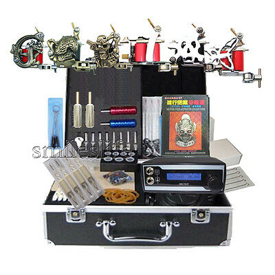 High Quality new LCD Tattoo Power 6 pro Tattooing Machine Complete sets