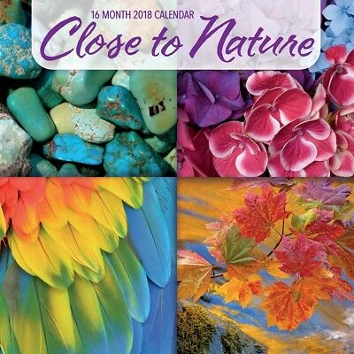 2018 Close to Nature Wall Calendar,  Nature by Avalanche Publishing